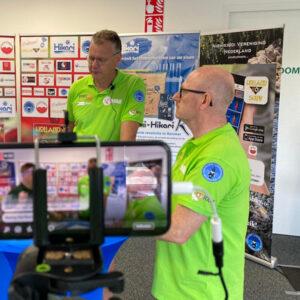 Online Holland Koi Show 2020 Corona (Covid-19) Vrijwilligers poloshirt